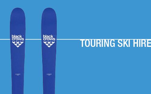 Touring Ski Rental Chamonix
