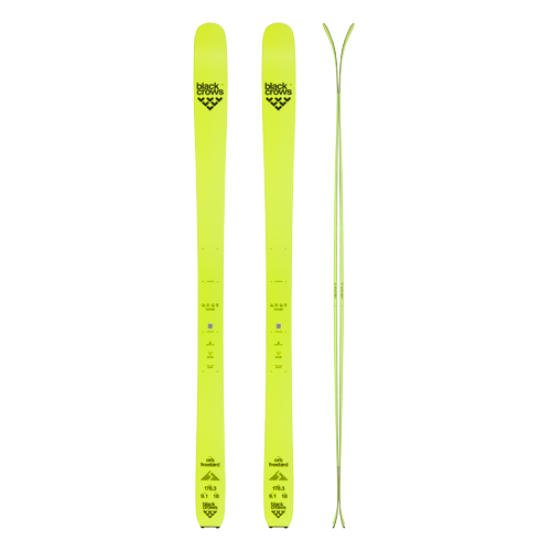 SKI RENTAL CHAMONIX BLACK CROWS ORB SKIS