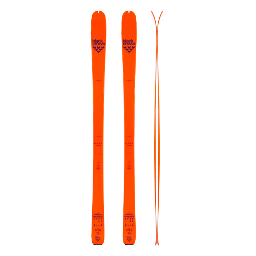 SKI RENTAL CHAMONIX BLACK CROWS VASTUS SKIS